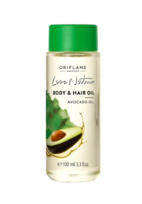 Love Nature Body & Hair Oil Avocado Oil