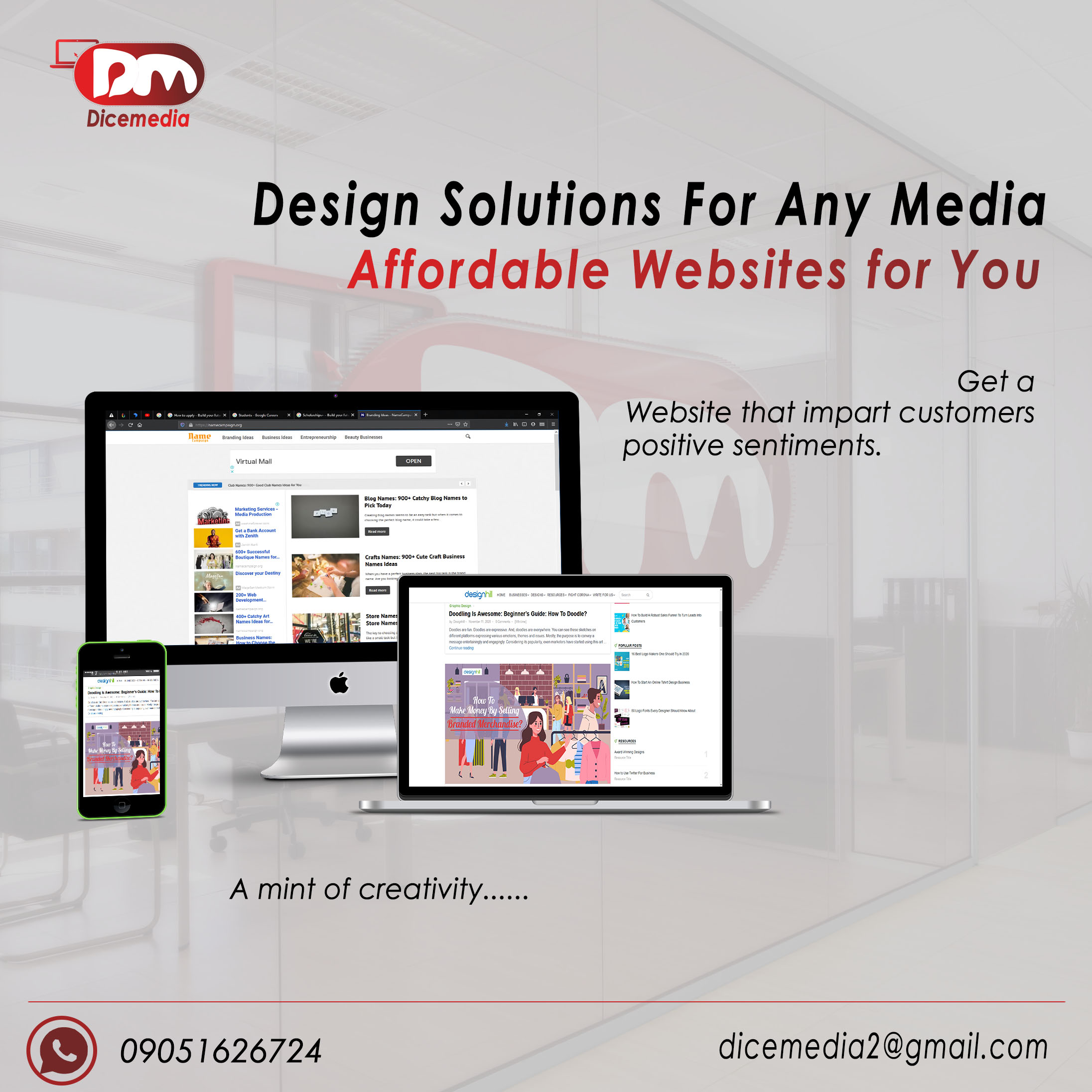 Professional Website Designed