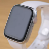 Series 6 t500plus smart watch black and white